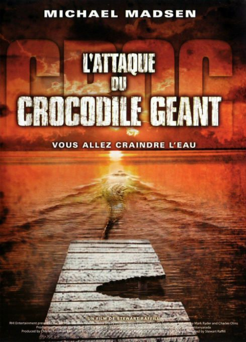 Download L'attaque du crocodile géant FRENCH Poster
